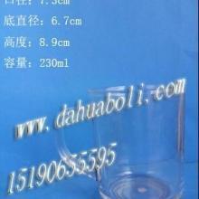 供应高白料把子杯/ 高质量玻璃杯/酒杯