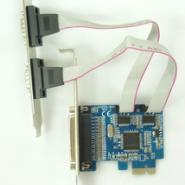 供应PCI-E扩展串口并口卡 串并口PCI-E扩展卡