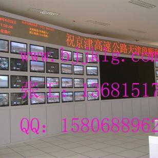 液81LED监控电视墙操作台监图片