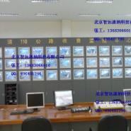 豪华型监控台控制台操作台电视墙图片