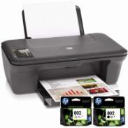 供应惠普2050喷墨打印机墨盒超大容量易加墨连喷墨盒