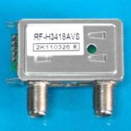 供应畅销出口南美3/4频道射频盒RF-H3418AVS1