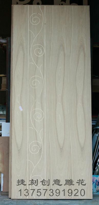 供应J56木工板/实木/木门双面雕花加工