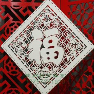 J85雕花板/镂空板/立体窗花图片