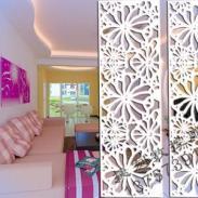 J05雕花板/PVC镂空板/背景墙/隔断图片