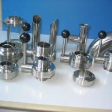 供应不锈钢DN50卫生级焊接蝶阀