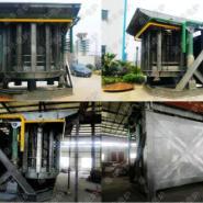 40吨中频钢壳炉图片