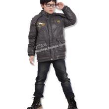 供应正品合乐童装儿童羽绒服男中大童羽绒休闲外套批发