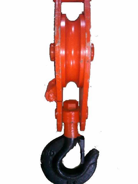 供应四川QB型滑轮吊钩滑车吊钩飞马起重机械