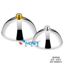 供应HY073不锈钢菜盖 菜罩 餐桌盖 餐盖 饭盖 灯饰配件