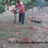 厂家供应最新式果树施肥挖坑机,效率高成本低施肥更均匀