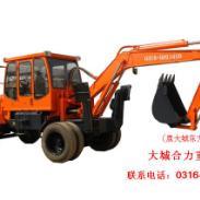 轮式挖掘机批发商图片