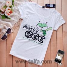 李宁2011新款t恤儿童t恤衫批发韩版女装t恤空白紧身批发