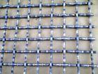 供应镀锌轧花网铁丝编织网