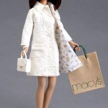 供应时髦芭比公仔加工,时尚礼品公仔制作,静态立体娃娃制作