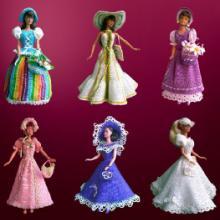 供应有授权芭比公仔,芭比玩具定制,搪胶娃娃供应商批发
