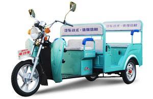 中国唯一运用汽车技术制作的电动车图片