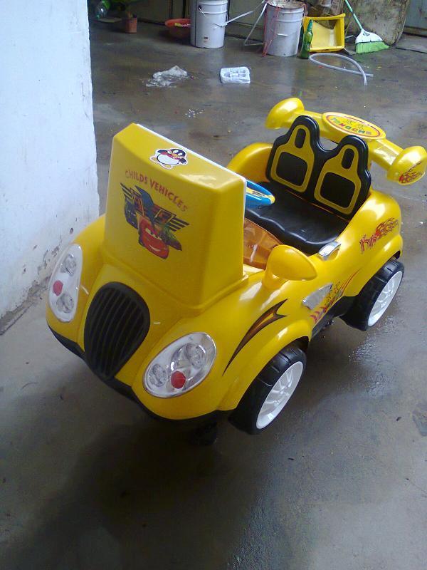 供应许昌禹州MP4喜羊羊摇摇车生产儿童摇摆式激光战车摇摆摩托车价格