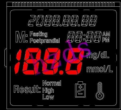 供应血糖计液晶屏图片
