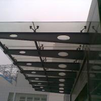 供应山东玻璃雨棚济南市玻璃雨篷