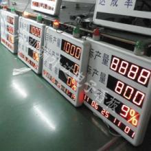 深圳厂家供应各类电子看板,产线看板,车间管理看板,计数看板生产看板图片