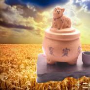 紫砂工艺品批发/汽车香水座图片