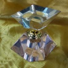 供应多色水晶香水瓶香水座香水瓶水晶香水座水晶合金工艺品