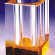 供应水晶笔筒厂家批发水晶办公用品财务水晶笔筒水晶笔筒哪里有得买