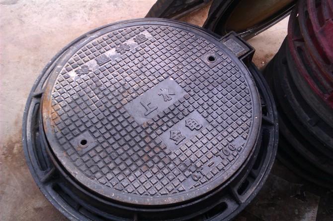 供应银川铸铁井盖塑钢爬梯