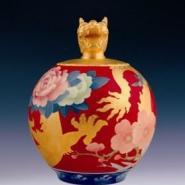 广西龙年瓷器花瓶图片