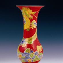 辽宁瓷器红官窑,辽宁瓷器,辽宁瓷器花瓶,辽宁瓷器红官窑,辽宁