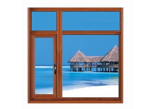 供应隔音隔热断桥铝推拉窗以及平开窗