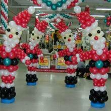 供应2011星级大酒店圣诞气球布置