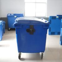 供应1100L塑料垃圾桶/环卫垃圾桶重庆力扬塑业有限公司