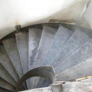 常州弧形楼梯图片