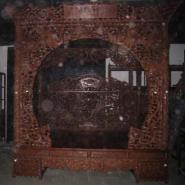 花梨木架子床供应商价格图片图片