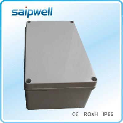 斯普威尔供应150*250*100接线盒  灰盖室内防水防尘接线盒