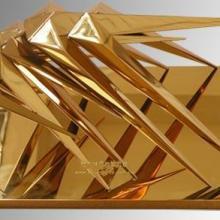 不锈钢表面处理加工--不锈钢PVD镀膜,真空电镀玫瑰金颜色加工批发