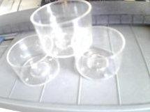 供应耐高温白色蜡烛器皿