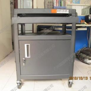 PB97-E带柜带键盘投影仪器车图片