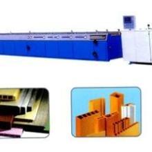 青岛华亚橡塑供应木塑共挤发泡异型材生产线图片