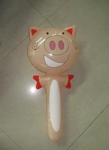 广东/供应广东专业生产PVC充气猪头棒玩具生产批发厂家图片