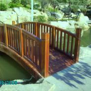 经典木桥图片