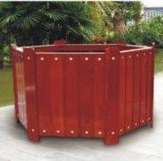 木制花盆出厂价格-长沙市图片