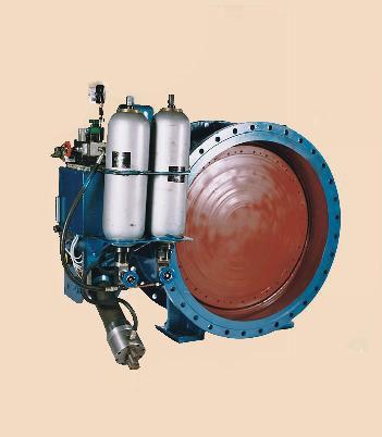 供应大口径液控蓄能蝶阀图片