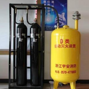 宇安D型干粉自动灭火系统装置图片