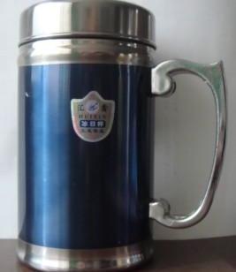 绅士杯带手柄办公杯不锈钢保温杯图片