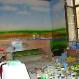 供应手绘墙画培训