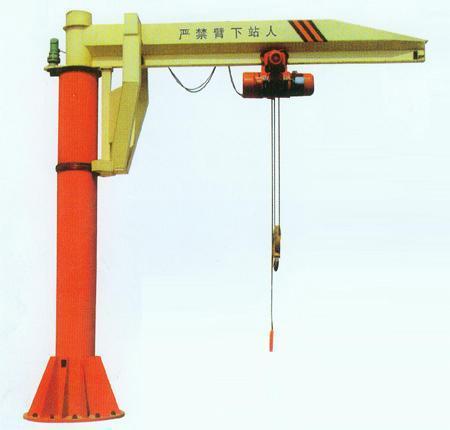 供应悬臂起重机设备柱式壁式悬臂吊立柱式悬臂吊墙壁图片