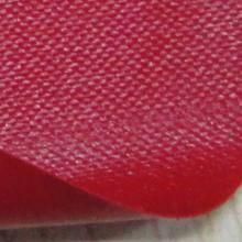 供应特软红色pvc雨衣夹网布KQD-A1-070